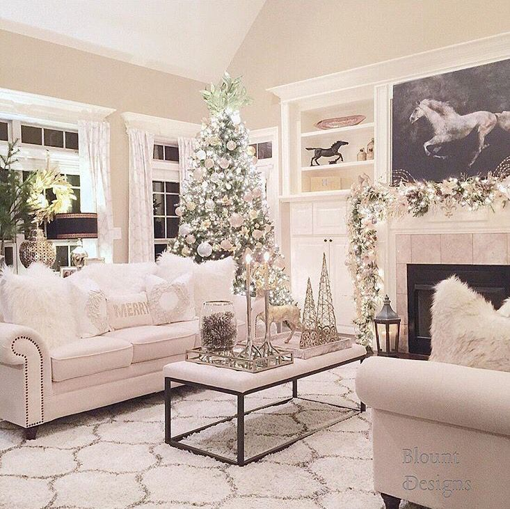 Do You Need Some Ideas For Your Christmas Living Room Decoration Here We Have The Most Simplest Christmas Living Room Decoration Ideas For Your References