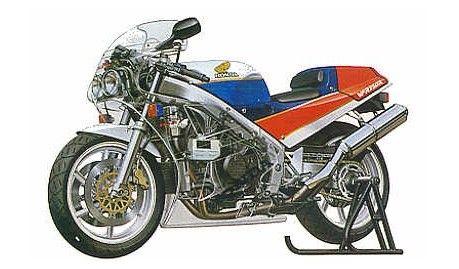 Tamiya - 14057 - Maquette de motos / model motorcycles  - Honda VFR 750R (RC30) - 1/12