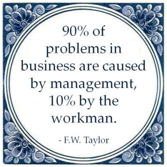 problems business caused management workman taylor quote