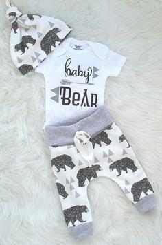 Coming home-Outfit/Baby Boy / nehmen Hause von bibitibobitiboutique