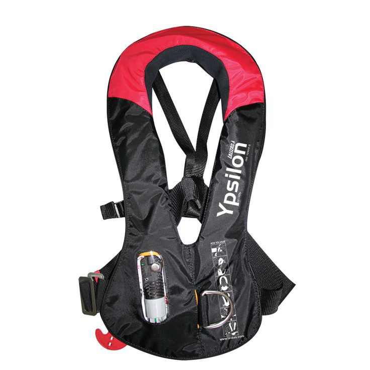 Inflatable Lifejacket Ypsilon 165N,  ISO 12402-3, auto LALIZAS JS1 image