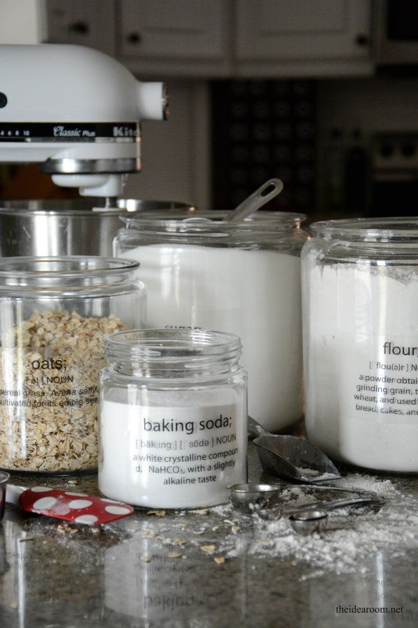 Printable Pantry Labels - The Idea Room