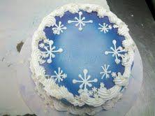 dq cakes Snowflakes