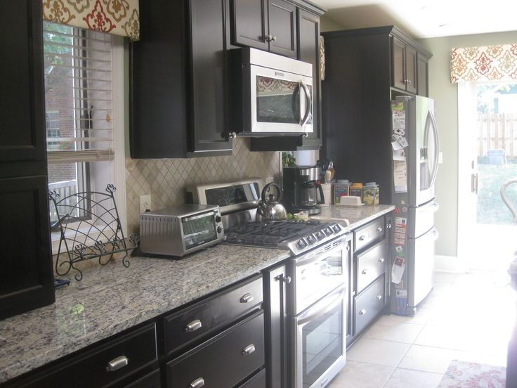 Image Result For Woodstar Seacrest2 Twilight Kitchen Cabinets Kitchen Aid Appliances Dark Kitchen Cabinets