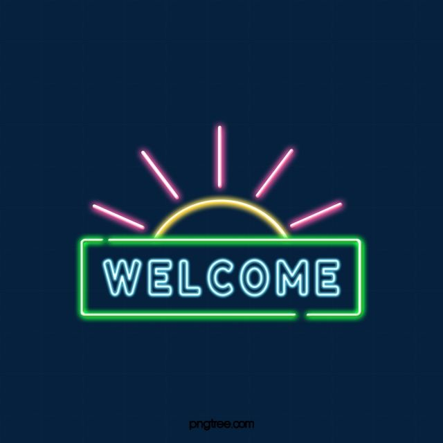 Welcome To Little Sun Neon Welcome Clipart Welcome The Neon Lights Png Transparent Clipart Image And Psd File For Free Download Neon Neon Png Clip Art