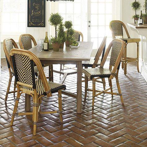 Set of 2 Paris Bistro Arm Chairs - $289/pair - 4 color choices