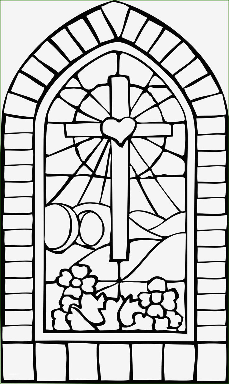 Unusual Stained Glass Window Template In 2020 in 2020
