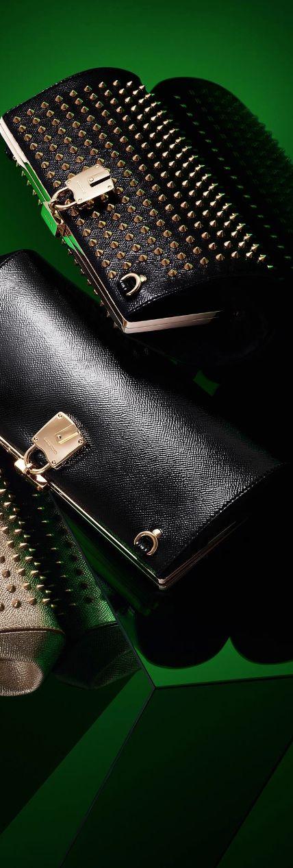 The Mini Blaze Studded Leather Clutch...Burberry