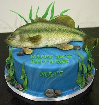 fishing cake ideas 17 best ideas about fish birthday cakes on 4083
