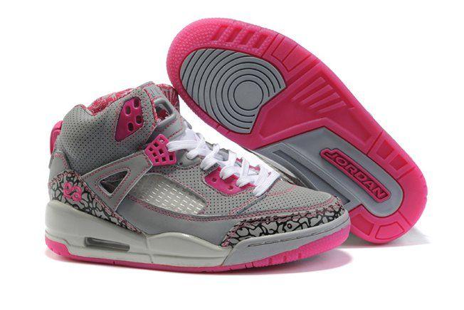 Air JOrdan 3.5 Spizike Retro Womens Shoes Cheap Grey Pink