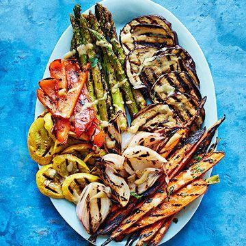 Tuscan Grilled Veggie Platter