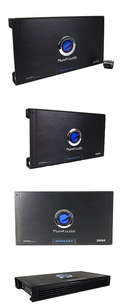 Car Amplifiers: New Planet Audio Ac2600.2 2600W 2-Channel Car Amplifier Amp Ac26002 + Remote -> BUY IT NOW ONLY: $90.95 on eBay!