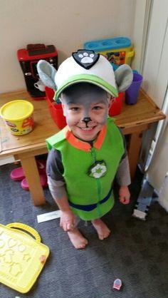 Rocky paw patrol costume