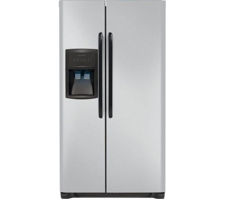 FFHS2313LM in Silver Mist by Frigidaire in Nipawin, SK - Frigidaire 22.1 Cu. Ft. Side-by-Side Refrigerator