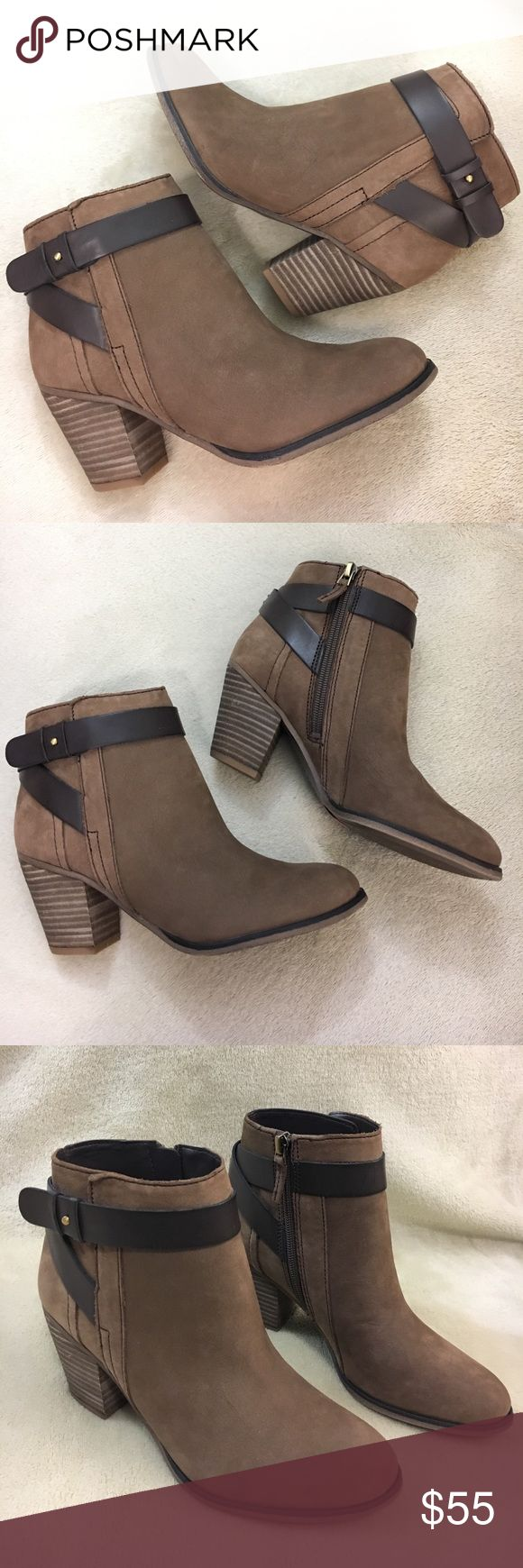 🆕 Franco Sarto Booties NEW Franco Sarto Leather Booties. Size 6. Franco Sarto Shoes Ankle Boots & Booties