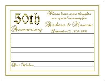 50th anniversary favors golden anniversary anniversary ideas 50th ...
