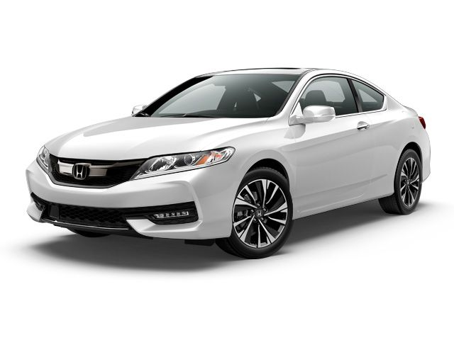 New #2017 #Honda #Accord EX-L Coupe for sale in Carlsbad    26 mpg  City   34 mpg  Hwy  2.4L I-4 Cyl  FRONT-WHEEL DRIVE  Exterior Color  : White Orchid Pearl   Interior Color : VORTEX BLUE PEARL