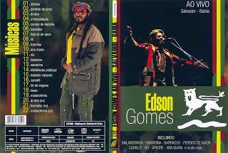 Mega Covers Gtba: Edson Gomes Ao Vivo Em Salvador - Capa Música DVD