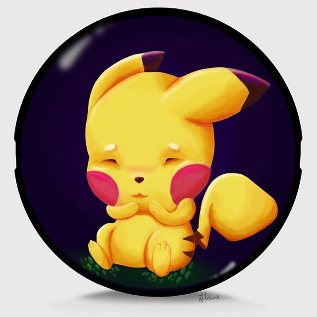 Baby #pikachu