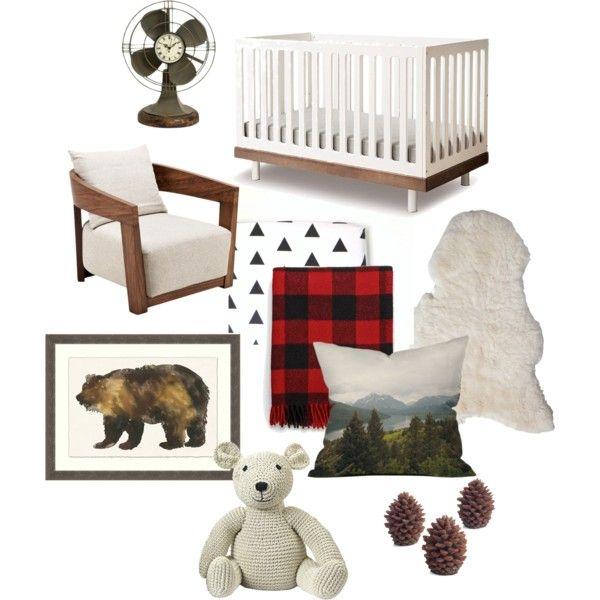 Lumberjack Cabin Nursery