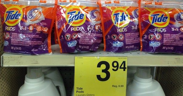 Tide Pods at Multiple Stores for $1.94 with Coupon! - https://www.momscouponbinder.com/tide-pods-multiple-stores-1-94-coupon/ #coupons #couponing #couponcommunity