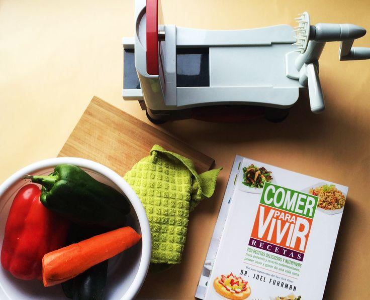 VIVIR MEJOR - el libro Comer para vivir -recetas- Dr. Joel Fuhrman