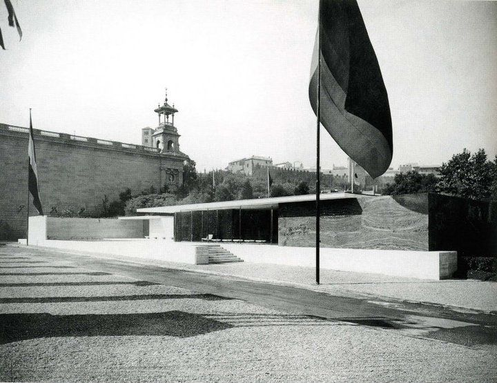 Ludwig Mies van der Rohe | The German Pavilion | Barcelona Universal Exhibition | May 20, 1929 - January 15, 1930