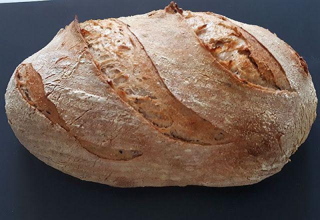 motýlia :) vareška: Pšeničný chlieb kváskový, ako inak? (chladničkové ...