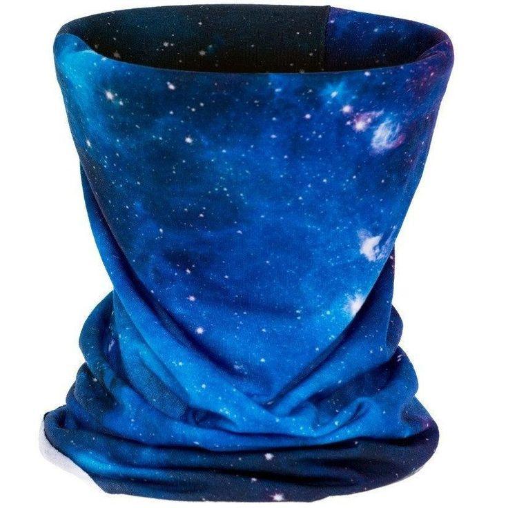 Galaxy Blue Bandana Mask