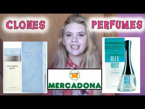 Perfumes Imitación Mercadona | Perfumes imitacion | Clones Perfumes - YouTube