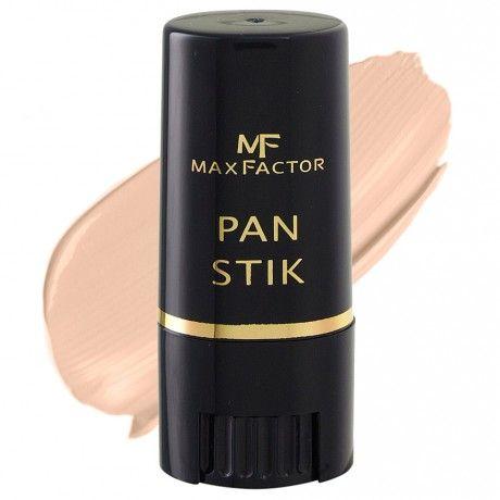 ΤοPanstikτηςMax Factorείναι ένα make up σε μορφή stick,επαγγελματικά παρασκευασμένοώστε νακαλύπτειτέλεια και ταυτόχρονα να δίνει έναφυσικό αποτέλεσμα. Εύκολο στη χρήση, δίνει στο δέρμα μια μεταξένια ματ αίσθηση.