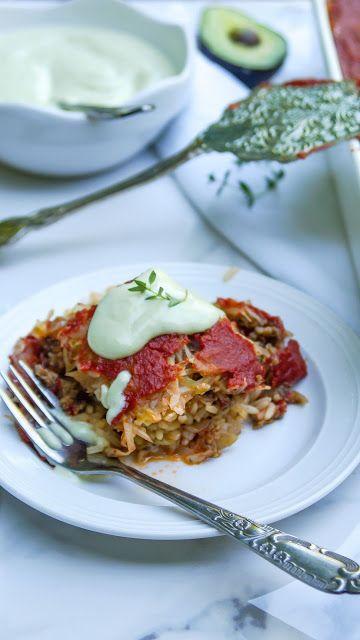 Layered cabbage with mushrooms and rice (varză à la Cluj) | Tera Solara