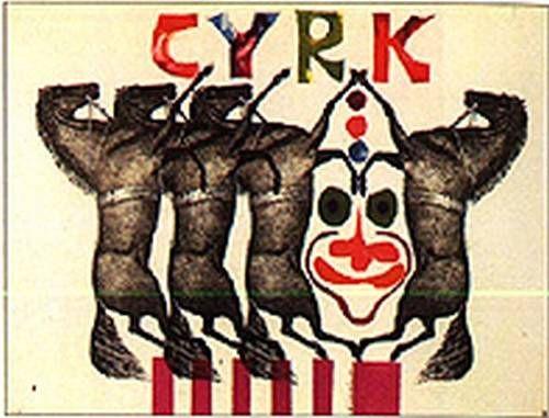 Roman Cieslewicz Circus 2 1962