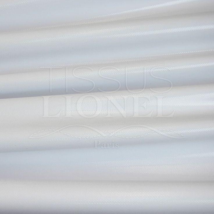 LYCRA PAILLETÉ FOND BLANC PAILLETÉ BLANC, LARGEUR 150 CM, 80% NYLON 20% ELASTHANE