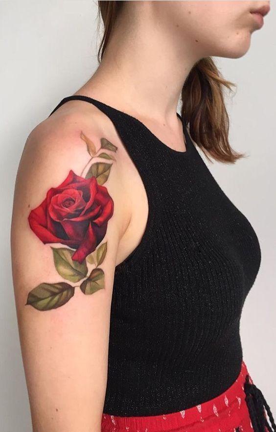 Tatuajes Para Mujer En El Hombro Los Mas Sexys Top 100