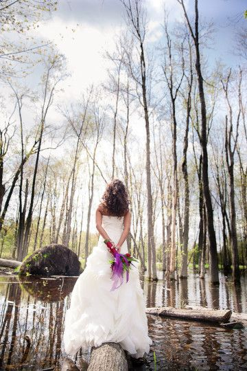 Enchanted Fairytale Forest Wedding Ideas|Photographers: Anne of Anne Edgar Photography |Megan at Anne Edgar Photography|Carla of CGE Photography