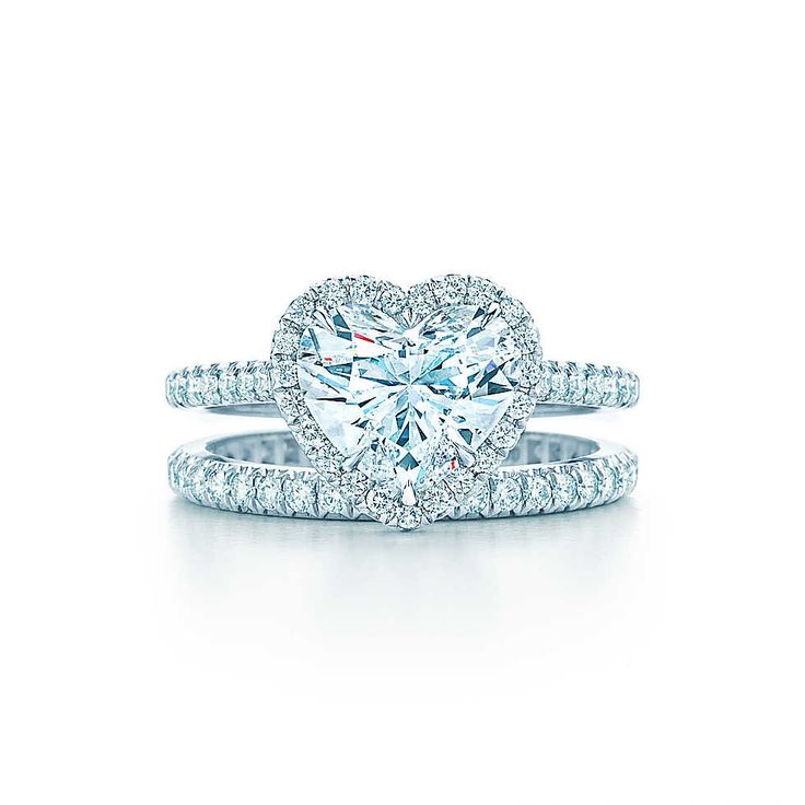 Tiffany Soleste® Heart Engagement Rings | Tiffany & Co. I have entirely way too much expensive of taste...