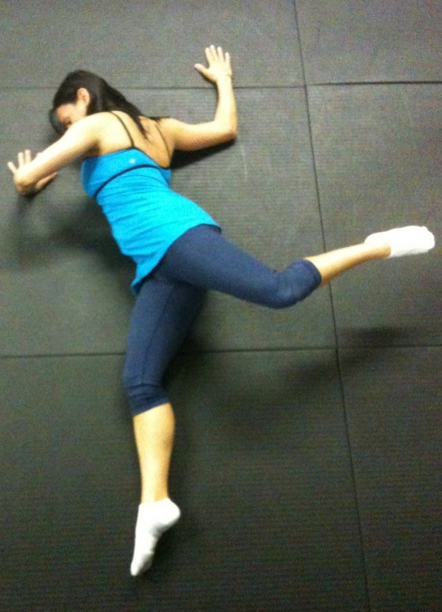174 best stretching images on pinterest physical for Floor quad stretch