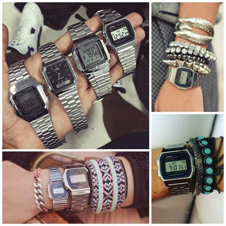 Como não amar uma peça bacana e com preço justo? Os relógios Casio da linha vintage são assim, basicamente iguais aos dos anos 80 com um toque atual.