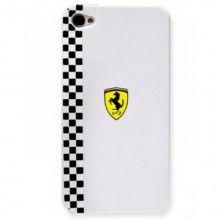 Forro Ferrari Formula 1 iPhone 4 4S - Blanca  Bs.F. 147,09