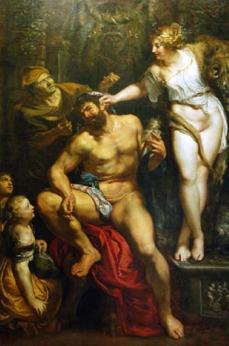 루벤스 [헤라클레스와 옴팔레] in 루브르 박물관