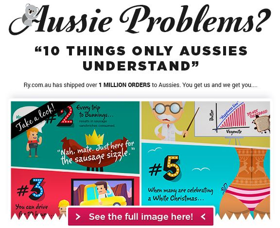 Your chance to win an asap prize pack valued at $500 - share the image, tag Ry.com.au and use the hashtags #rycompetitions & #AustralianProblems