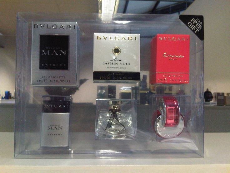 When you buy an Bvlgari fragrance (50ml or more) at #Foschini, you get the below set of 3 BVLGARI miniatures (collectors items)!! Who doesn't like a free gift?!?