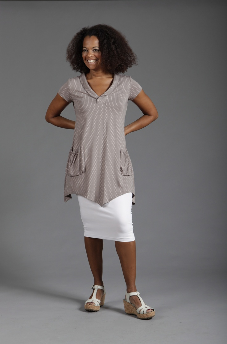 Lousje & Bean  Aline Tunic W/Pencil Skirt SS2013
