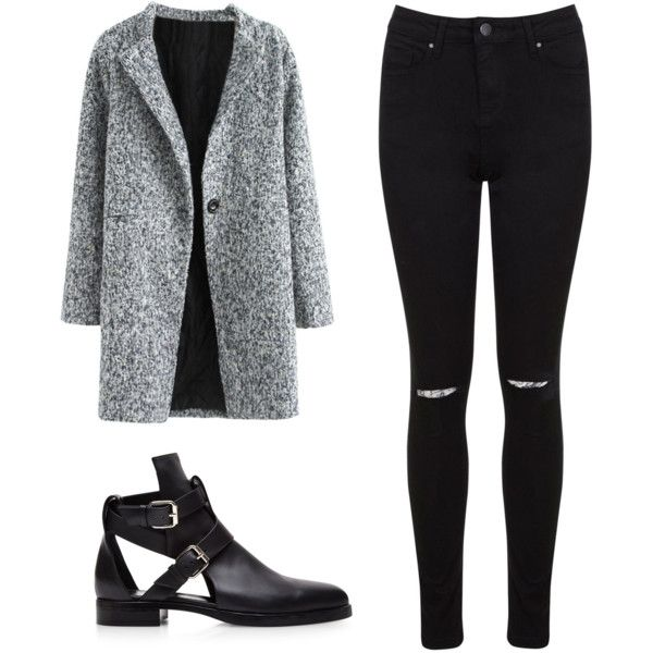 MUST HAVE COAT! by jadeclaire19 on Polyvore featuring Miss Selfridge and Pierre Hardy