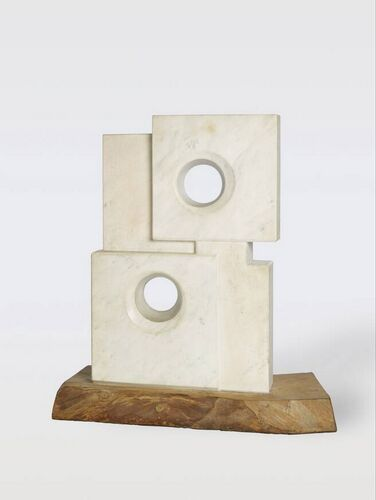 Barbara Hepworth - Marble with colour (Crete) (Marmer met kleur (Kreta))
