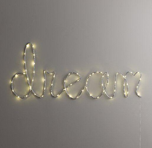 "7 - Starry Light Wall Décor ""Dream"" #RHBabyandChildMotherGiveaway @rhbabyandchild  @mothermagdotcom"