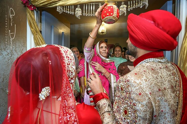Punjabi Wedding Photography San Jose California Sikh Marriage Pictures Silicon Valley East Indian Portrait Photographer