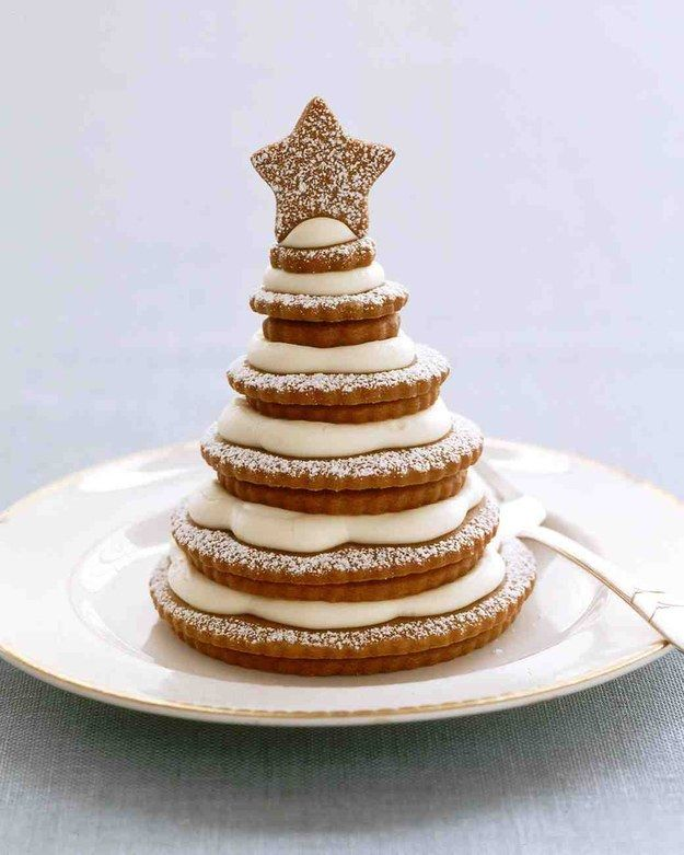 Gingerbread Cookie Trees | 27 Holiday Cookies That Are Almost Too Cute To Eat
