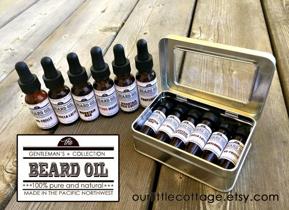 Beard Oil Kit Valentine's Day Beard by OurLittleCottage on Etsy